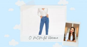 SANJARIM O MOM-fit hlačama