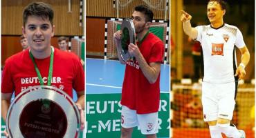 NA HERCEGOVAČKI POGON Ćorluka, Ivanković i Delić prvaci Njemačke s TSV Weilimdorf