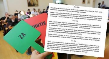 OTVARA SE PROSTOR Federacija i županije će moći obustavljati odluke gradonačelnicima