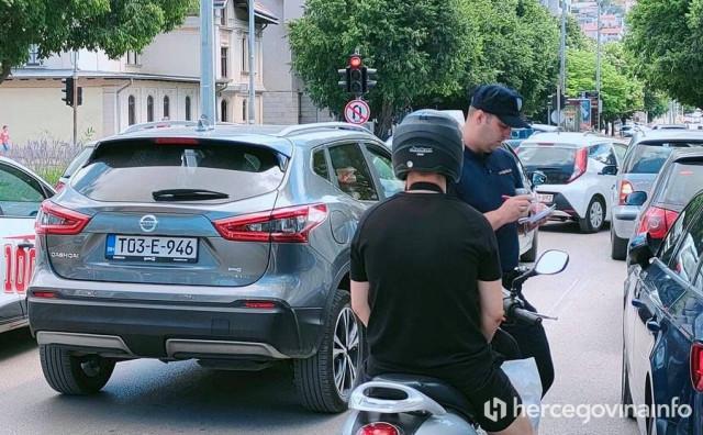 Krenula pojačana kontrola motociklista na mostarskim ulicama