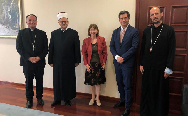 Sastali se vjerski lideri Hercegovine, pohvalili ih stranci