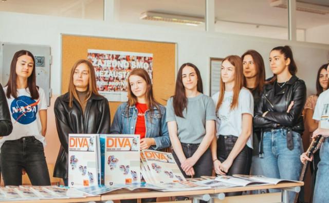 """""""DIVA"""" Učenici Srednje škole Prozor promovirali peto izdanje školskog časopisa"""