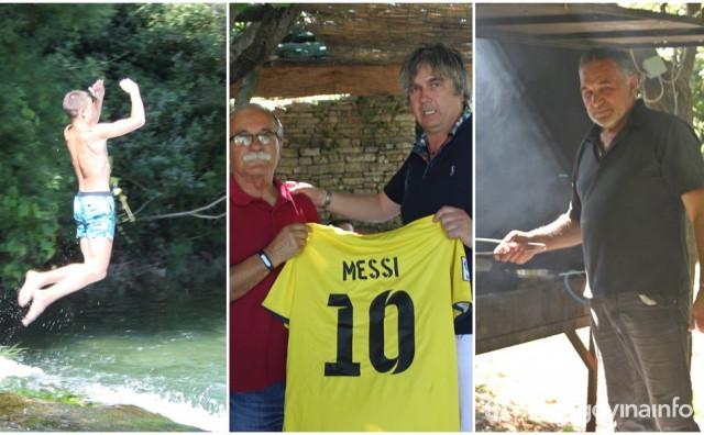 """PRIČA S BOŽJAKA """"Profesor koji pliva svaki dan, restoran koji nosi ime po Zvoni Bobanu i dres kojeg je nosio Messi"""""""