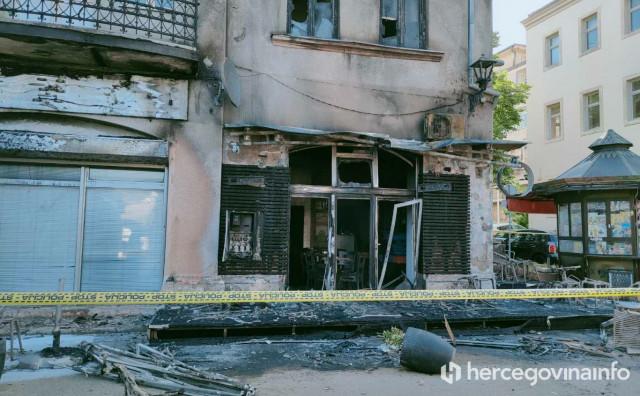 POTPIS U MOSTARU Novac iz gradskog proračuna za sanaciju izgorjelog kafića