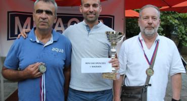 TAVLA Dražen Vučina osvojio srebro u Novom Sadu