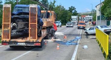 ŠIROKI BRIJEG Jedna osoba smrtno stradala u prometnoj nesreći, više ozlijeđenih