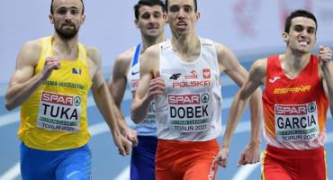 Amel Tuka u polufinalu utrke na 800 metara na Olimpijskim igrama