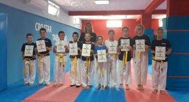 CRO STAR Taekwondoisti uspješno položili za nove pojaseve