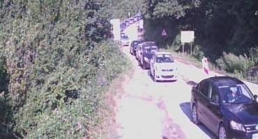 Pojačan promet vozila na GB Hum na izlazu iz BiH