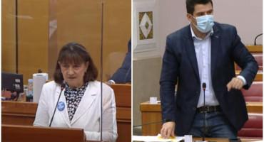 """VRUĆE U SABORU """"Znate kako vas ljudi u BiH zovu gospođo Bušić - mumijama"""""""