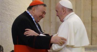 Kardinal Vinko Puljić poslao poruku podrške papi Franji