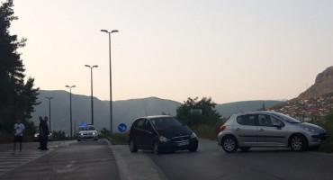 MOSTAR Lakša prometna nezgoda na južnom izlazu iz grada
