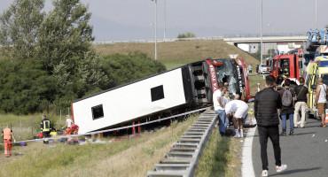 SLAVONSKI BROD Čak 67 putnika je bilo u autobusu smrti, među njima i djeca