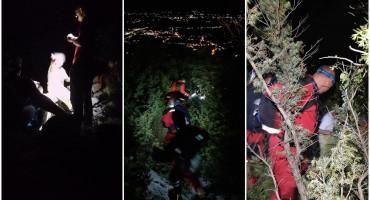 SRETAN KRAJ POTRAGE Spašavatelji pronašli i spasili državljanku Češke u Međugorju