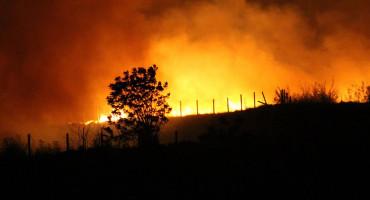 VEĆI POŽARI Čapljinski vatrogasci spašavali kuće, a mostarski gasili gume