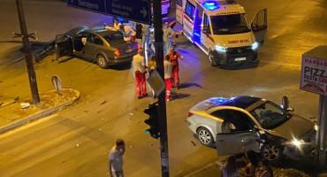 Dvije osobe ozlijeđene u prometnoj nesreći u Mostaru