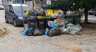 I Ljubuški ima probleme sa smećem u centru grada