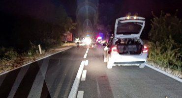 ČAPLJINA U prometnoj nesreći teško ozlijeđen motociklist