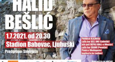 Večeras dugooočekivani koncert Halida Bešlića u Ljubuškom