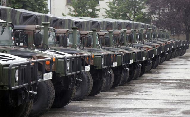 Oružane snage BiH dobile Humwee vozila, u planu nabavka nekoliko helikoptera