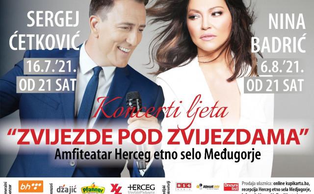 Sergej gotovo rasprodan, a ulaznice za koncert Nine Badrić po nižim cijenama još do četvrtka