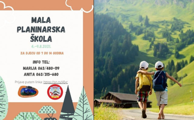 Počele su prijave za prvu malu planinarsku školu za djecu od 7 do 14 godina