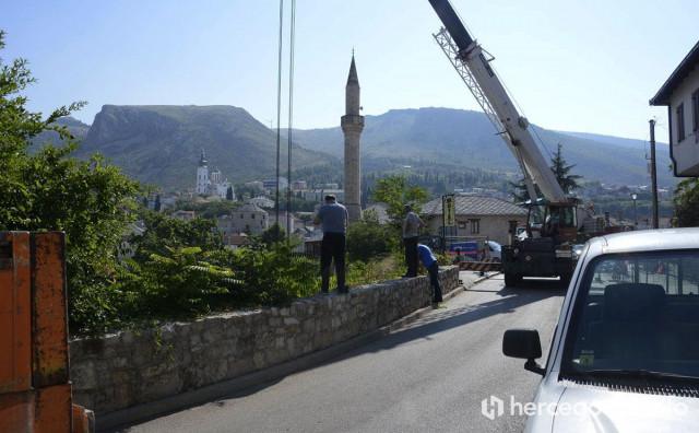 MOSTAR Nakon više od pola godine započela hitna sanacija; Nova regulacija prometa
