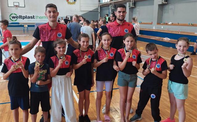 Zrinjski se okitio sa devet medalja