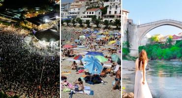 TURISTIČKA SEZONA Neumljani zadovoljni, u Međugorju djelomično, a u Mostaru nikako