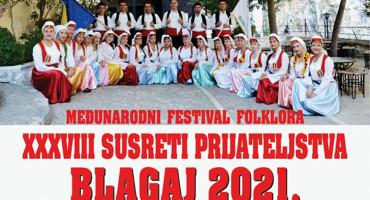 BLAGAJ Dođite i uživajte u šarenilu boja na festivalu folklora
