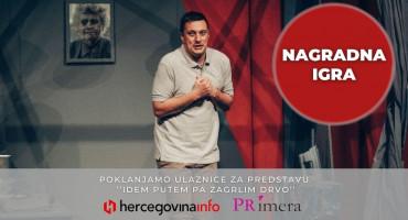 Hercegovci željni komedije! Veliko zanimanje za predstavu Andrije Miloševića, a mi vas nagrađujemo sa osam ulaznica!