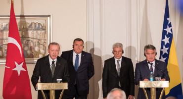 Erdogan u Sarajevu okupio Predsjedništvo BiH, a Dodik mu rekao za jednog stranca i Afganistan