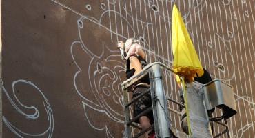 ULIČNA UMJETNOST Mostarske fasade bogatije za dva murala