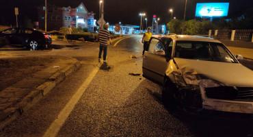 Troje ozlijeđenih u sudaru na ulazu u Mostar