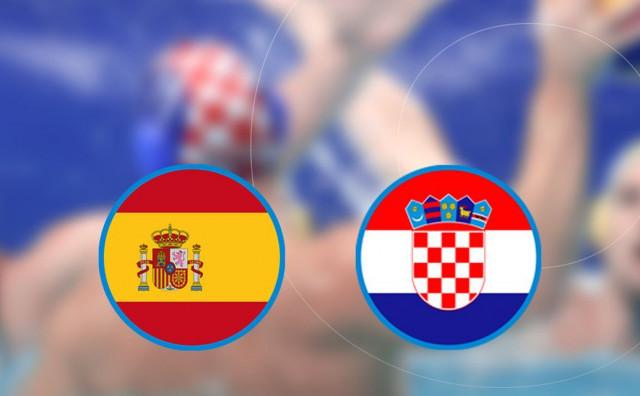ZA PRVO MJESTO Hrvatski vaterpolisti protiv Španjolske za lakšeg protivnika