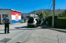 MOSTAR U dva odvojena sudara, automobili završili na banderama