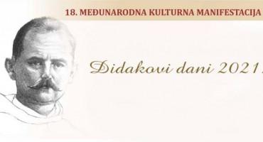"""18. """"Didakovi dani"""" održat će se od 6. do 19. listopada"""