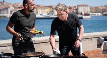 NA JADRANU Hrvatski proslavljeni kulinarski virtuoz ugostio slavnog Gordona Ramsaya