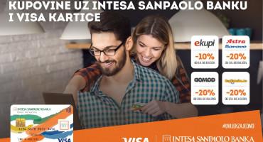 Mjesec najatraktivnije online kupovine uz Intesa Sanpaolo Banku i Visa kartice