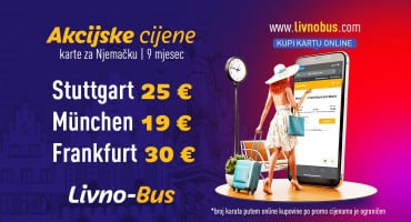 Jesen donosi novi val odličnih cijena u Livno-Busu!