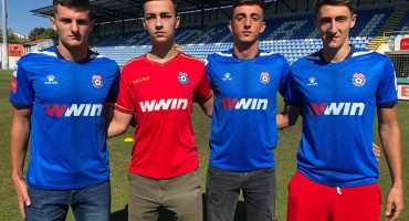 NK ŠIROKI BRIJEG Iz škole nogometa stigla četiri igrača u prvi tim