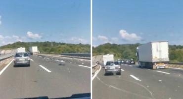 TEŠKA NESREĆA NA A1 Uhićen vozač kamiona iz BiH