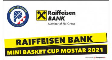 PEPI SPORT vas poziva na održavanje turnira: Mini Basket Raiffeisen bank Cup Mostar 2021
