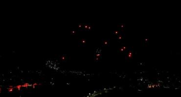 'Škripari' uz vatromet i bakljadu proslavili 25. rođendan