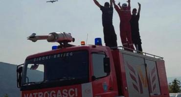 VIŠE NEGO LANI Vatrogasci u ŽZH u ovoj godini imali 610 intervencija