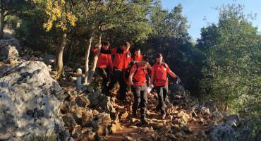 GSS kod Međugorja spasio tri ozlijeđene ženske osobe