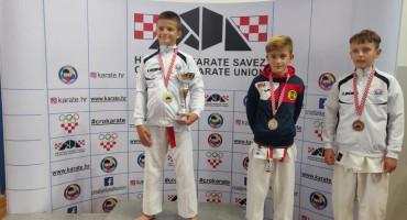 DRŽAVNO PRVENSTVO Desetogodišnji Mostarac novi je prvak Hrvatske u karateu