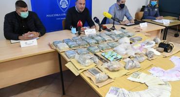 Hrvatska policija o drogama iz BiH: Zaplijenjeno 19 kg heroina, više od 1 kg amfetamina ...