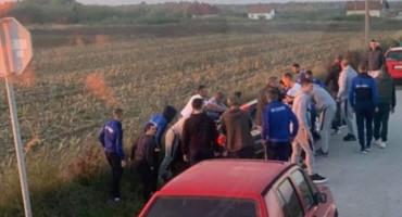 LIJEP POTEZ Unatoč osvojenom bodu, nogometaši Travnika postali su pobjednici