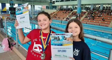 Plivačice Veleža ostvarile ciljeve, a 'pokupile' su i dvije medalje